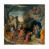 Uffizi Triptych. Adoration of the Magi Giclee Print by Andrea Mantegna