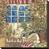 Cozy Corner II Stretched Canvas Print by Elizabeth Jardine