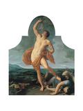 Samson Victorious Kunstdrucke von Guido Reni