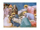 Passion, Mourning over Dead Christ Prints by  Giotto di Bondone