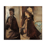 Mrs. Jeantaud at the Mirror Giclee Print by Edgar Degas
