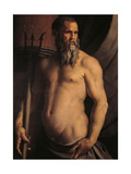 Portrait of Andrea Doria as Neptune Giclee Print by Bronzino Angelo