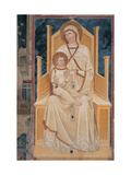 Madonna and Child Enthroned Prints by  Verona Artist