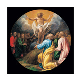 Mysteries of the Rosary, Christ and the Apostles Giclee Print by Vincenzo Campi