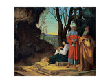 Three Philosophers Prints by  Giorgione