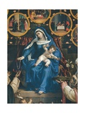 Madonna of the Rosary Posters by Lorenzo Lotto