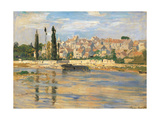 Carrires Saint Denis Giclee Print by Claude Monet