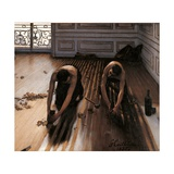 Floor Planers Posters by Gustave Caillebotte