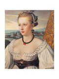 Female portrait Prints by Moretto da Brescia Bonvicino