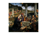 Adoration of the Shepherds Prints by  Ghirlandaio
