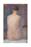 Pose from the Back Posters by Georges Seurat