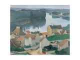 Marne Landscape Giclee Print by Egisto Paolo Fabbri