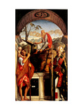 San Giovanni Crisostomo Altarpiece Print by Giovanni Bellini