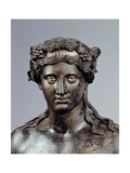 Statue of Dionysus, 1st c. A.D. Ancient Roman painting. Palazzo Massimo, Rome, Italy Posters