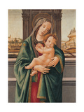 Madonna and Child Prints by Sandro Botticelli