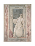 Virtues and Vices, Infidelity Giclee Print by  Giotto