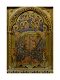 Polyptich of St. Clare, Coronation Virgin Mary Poster von Paolo Veneziano