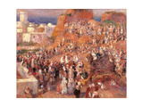 Mosque, or Arab Festival Print by Pierre-Auguste Renoir