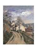 Dr. Gachet's House at Auvers Prints by Paul Cézanne