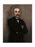 Portrait of Georges Benjamin Clemenceau Poster by Édouard Manet