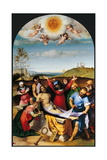 Deposition in the Tomb Prints by Lorenzo Lotto