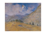Matterhorn Discovered Prints by Clemente Pugliese Levi Levi
