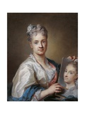 Self portrait Posters af Rosalba Carriera