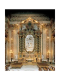 Altar with the Glory of St. Luigi Gonzaga Posters by Pierre Le Gros