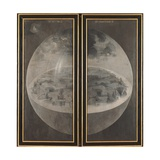 Garden of Earthly Delights, Creation of the World Giclée-Premiumdruck von Hieronymus Bosch
