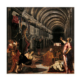 Discovery of St. Mark's Body Prints by  Tintoretto
