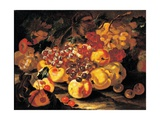 Grapes, Apples and Quinces Prints by Spadino Castelli
