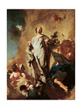 Immaculate Conception and Angels Posters by Giovanni Battista Piazzetta