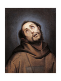 St. Francis Prints by circle of Cerano Crespi