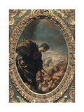 Elisha Multiplies the Bread Giclee Print by  Tintoretto