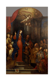 Madonna of the Letter Print by Gabrielli Onofrio