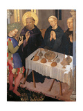 St. Benedict Blessing a Glass of Poisoned Wine Prints by Gentile da Fabriano