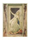 Virtues and Vices, Inconstancy Giclee Print by  Giotto