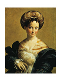 Turkish Slave Art by  Parmigianino