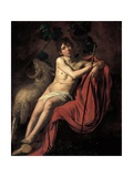 St. John the Baptist Giclee Print by  Caravaggio