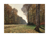 Road to Chailly Poster by Claude Monet