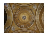 Joseph and his Brothers. First Joseph's dome. St. Mark's Basilica, 10th c. Venice, Italy Posters
