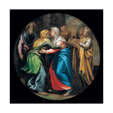 Mysteries of the Rosary, The Visitation Giclee Print by Vincenzo Campi