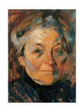 Portrait of the Mother Prints by Umberto Boccioni