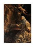 Blessed Beatrice Plakat af Rutilio Manetti