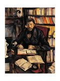 Portrait of Gustave Geffroy Prints by Paul Cézanne