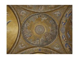 Dome of Moses. St. Mark's Basilica, 10th c. Venice, Italy Giclee Print