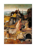 Hermit Saints Triptych Prints by Hieronymus Bosch