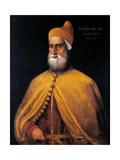Portrait of Doge Francesco Don Posters af Titian (Tiziano Vecelli)