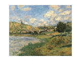 Landscape. Vetheuil Prints by Claude Monet