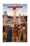 Crucifixion Poster by Hubert & Jan Van Eyck